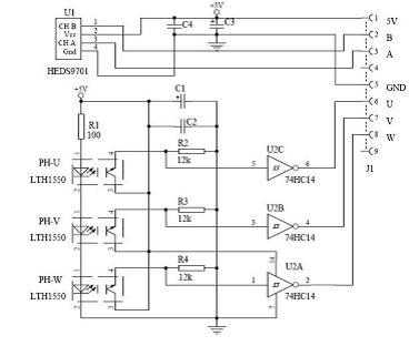 njm2035立体编码器电路图